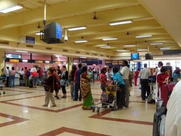 Даболим аэропорт Гоа